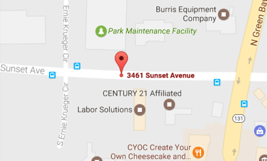 Avery Dental Care location map